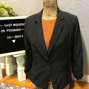 Woman's Black Blazer Size M